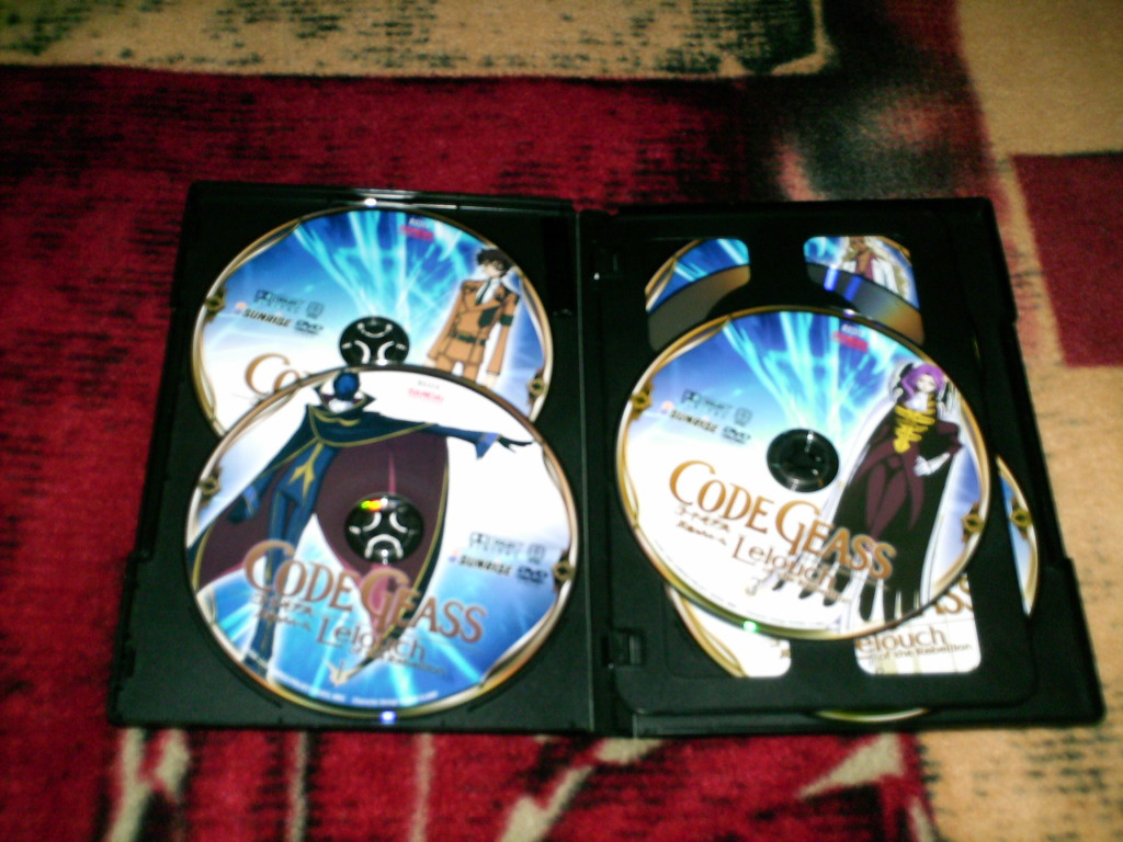 Code Geass The Complete First Season | DVD Bandai Entertainment