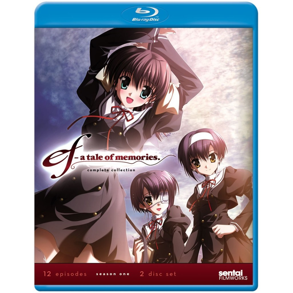 DVDs Blu-rays Anime Janeiro 2012 | ef A Tale of Memories Season One