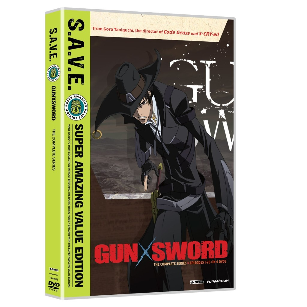DVDs Blu-rays Anime Janeiro 2012 | Gun X Sword The Complete Series SAVE