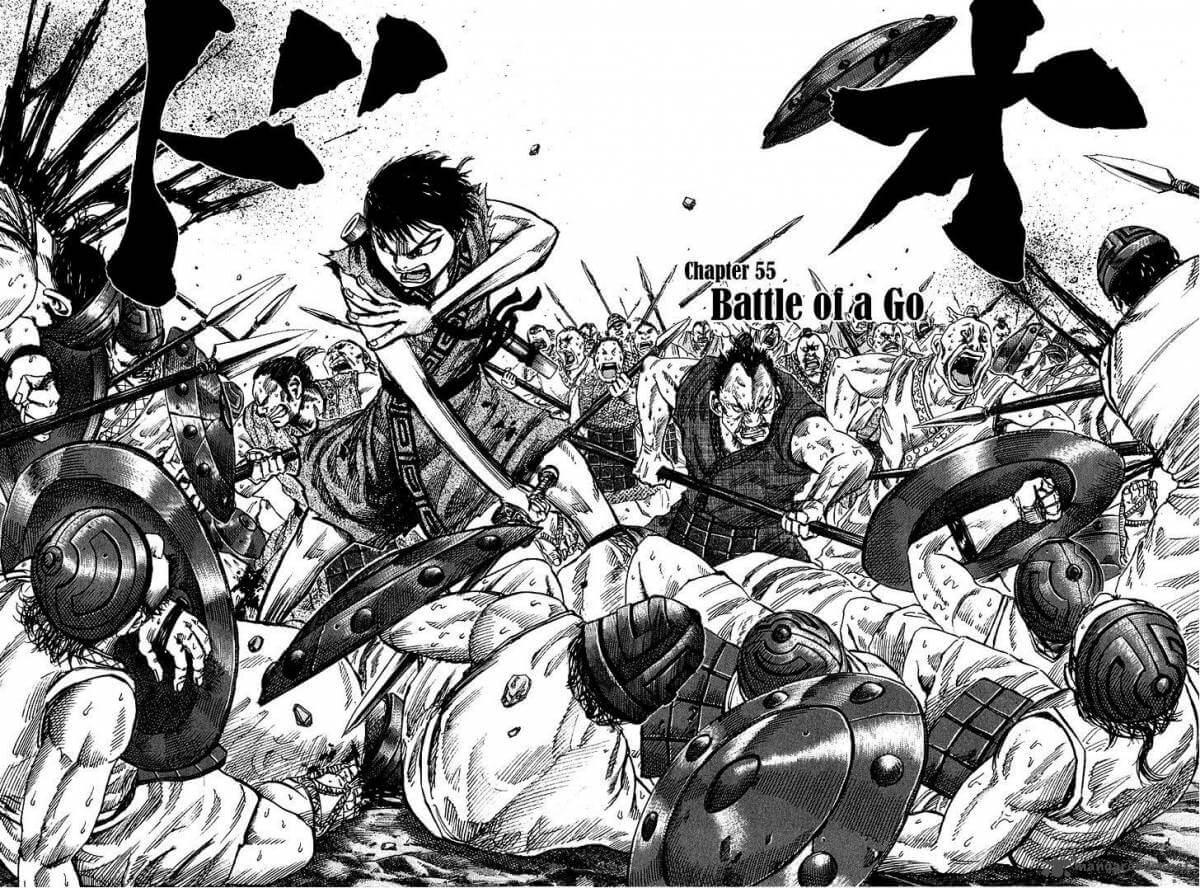 Kingdom Manga com 28 Milhões de Cópias Impressas Manga Imagem