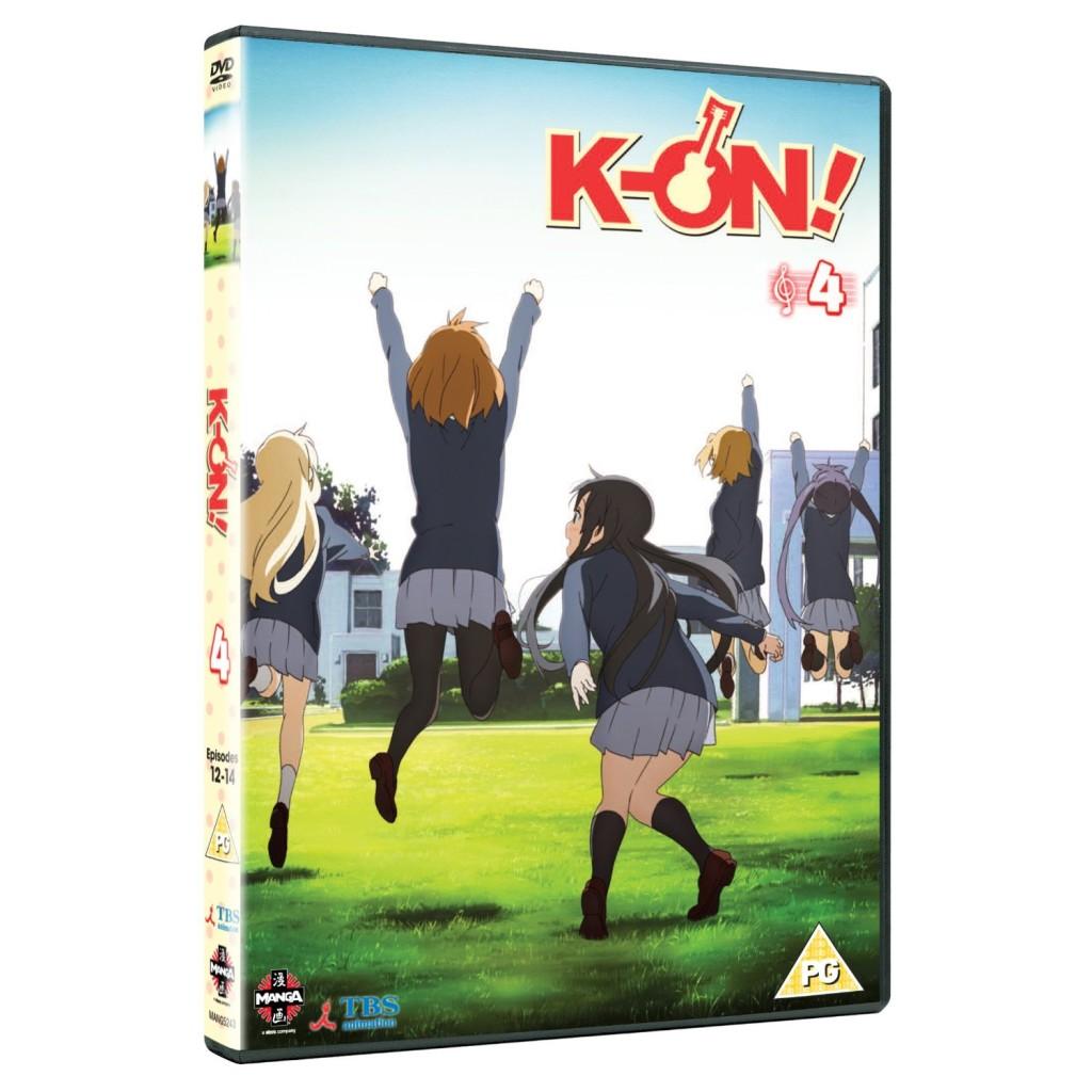 DVDs Blu-rays Anime Janeiro 2012 | K-On! Volume 4
