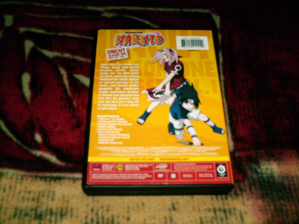Naruto Uncut Box Set Season One Volume 1 | DVD Viz Media