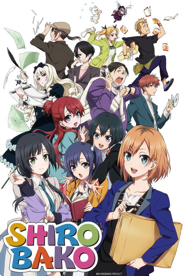 Shirobako Anime anuncia Continuação | Filme Poster Promocional