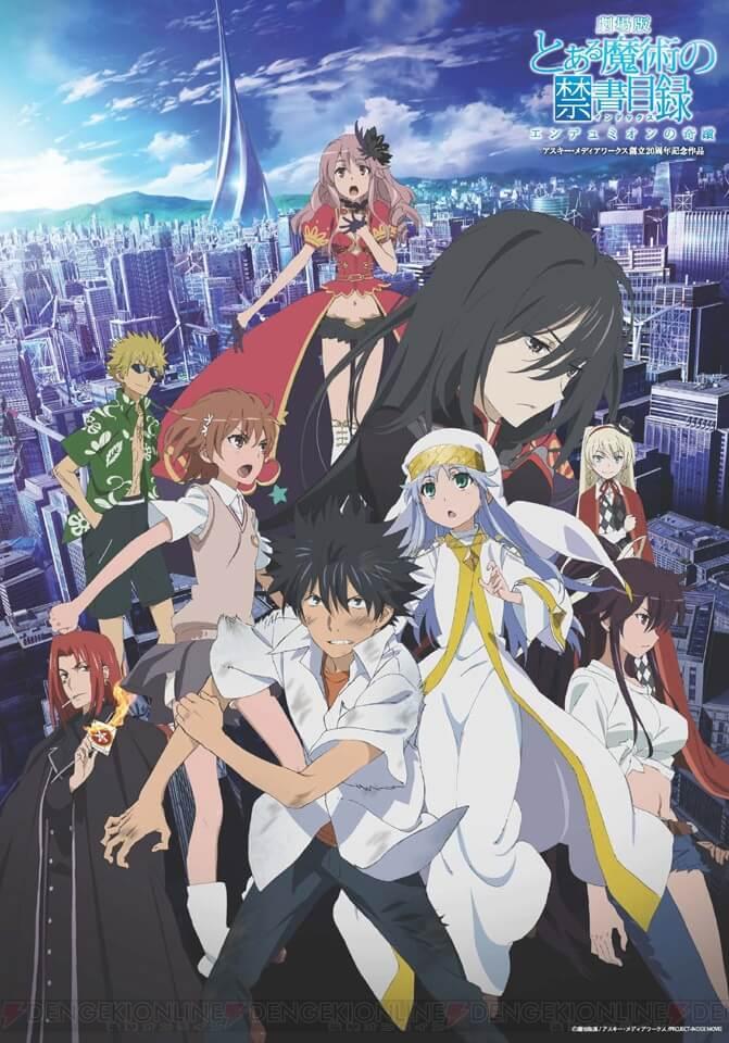 Toaru Majutsu no Index Temporada 3 é uma Possibilidade
