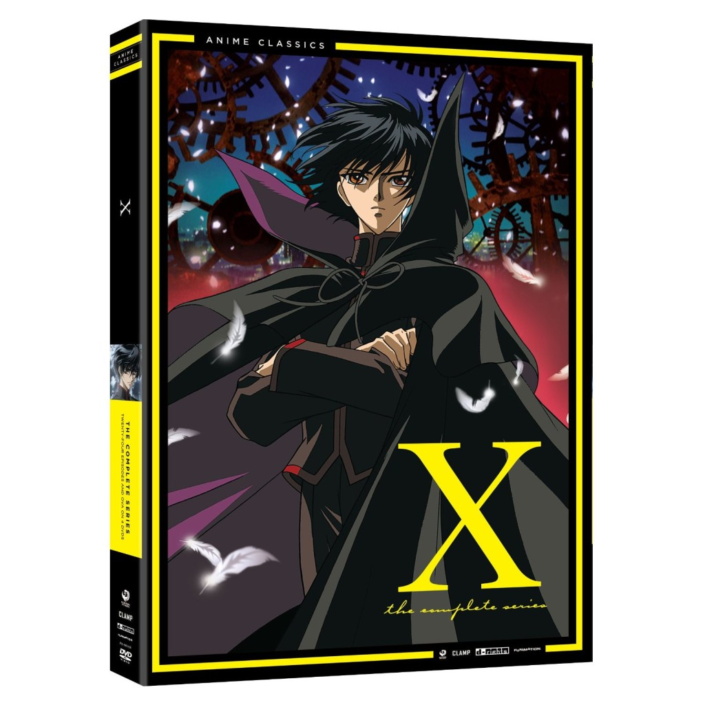 DVDs Blu-rays Anime Janeiro 2012 | X The Complete Series