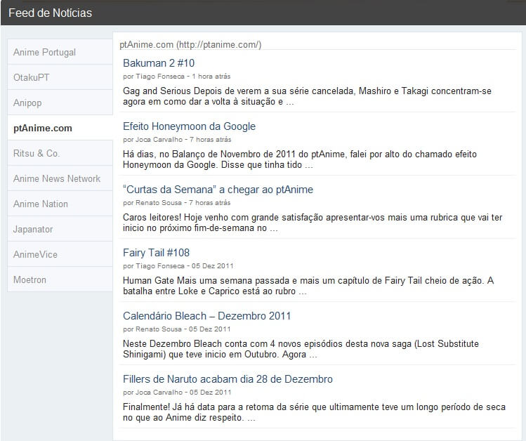 Parceria ptAnime & Anime Portugal