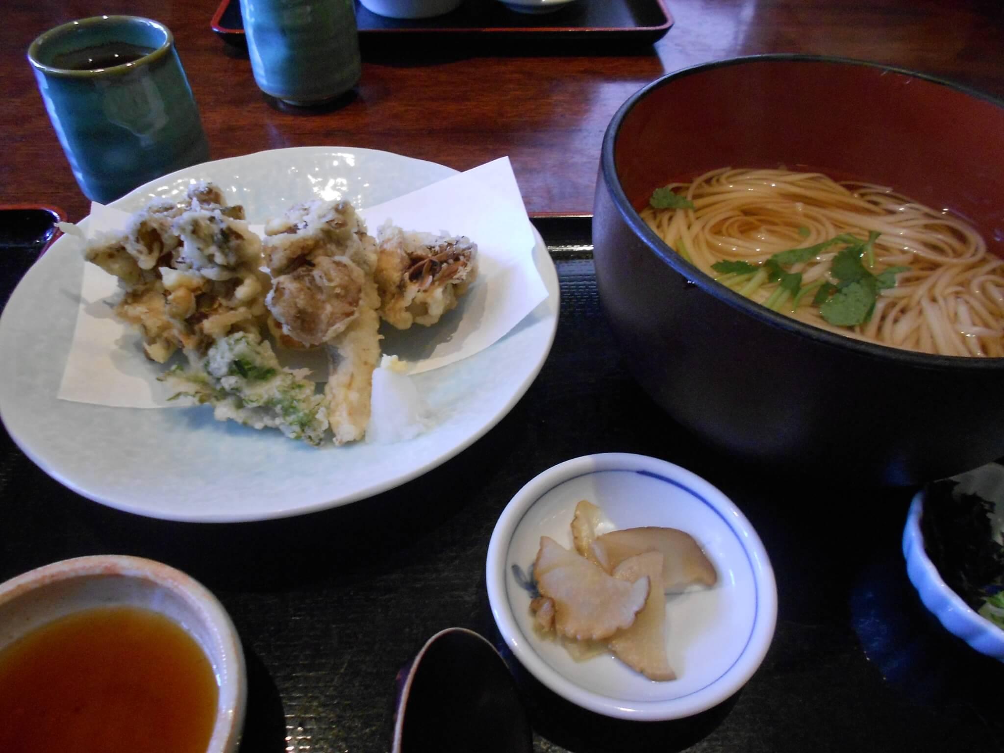 tempura inaniwa udon setmeal