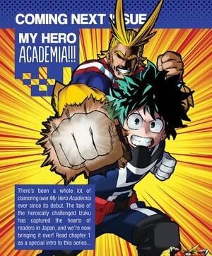 Shonen Jump da Viz Media adiciona My Hero Academia