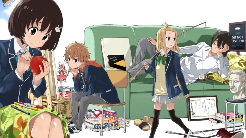 Kono Bijutsubu ni wa Mondai ga Aru - Poster Promocional