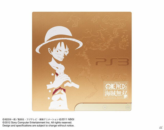 One Piece Playstation 3 Gold Edition
