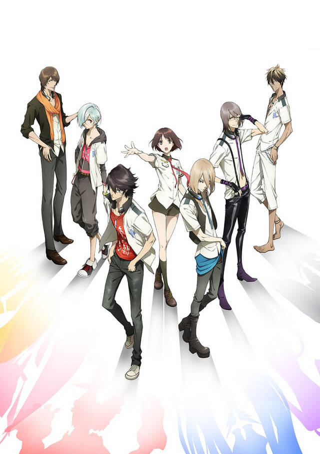 Scared Rider Xechs - Poster Promocional