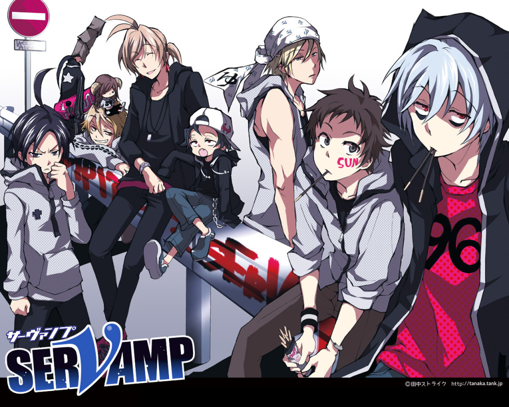 Servamp - Poster Anime