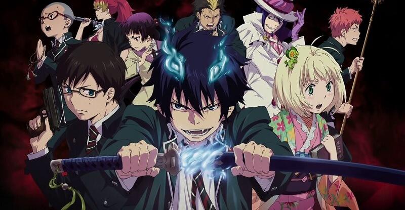 Anime Ao no Exorcist 2017 Revelado | Anúncio