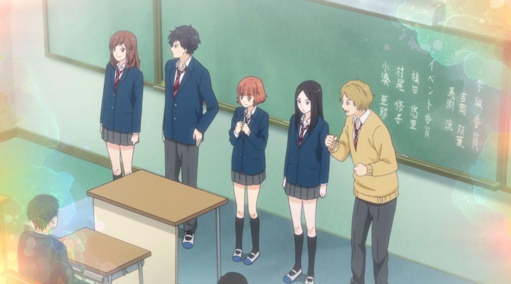 Anime Ao Haru Ride | Verão 2014