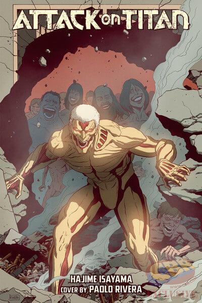 Attack on Titan Volume 19 Com Capa Especial   Edição USA