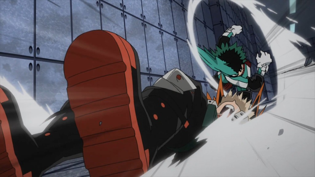 Boku no Hero Academia - Deku vs Kacchan