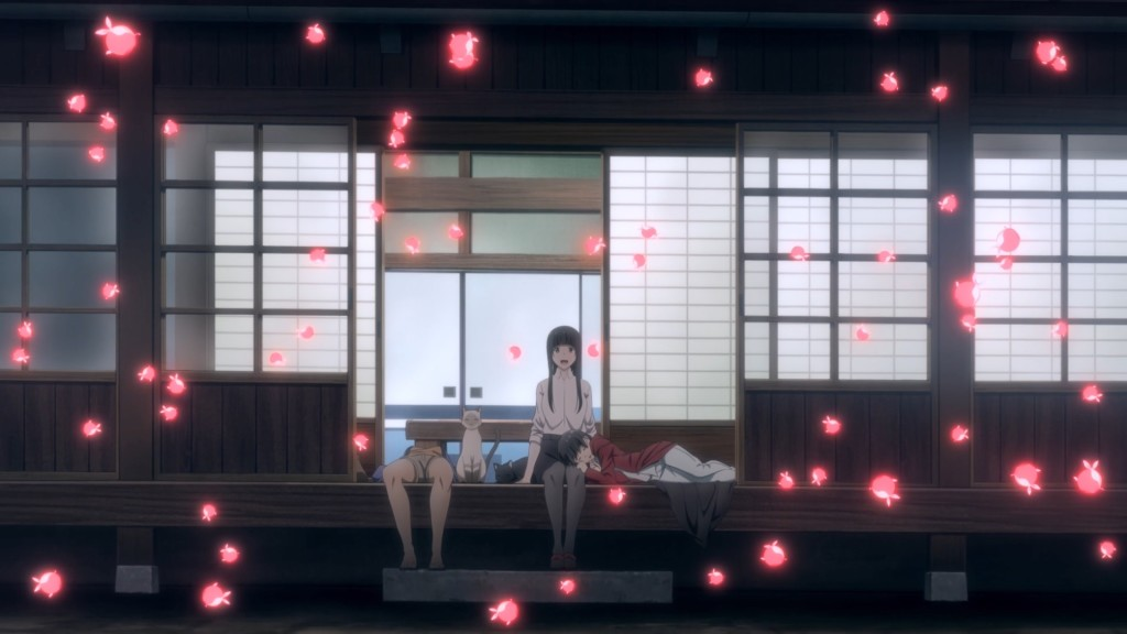 Flying Witch - Ambiente Ep 12
