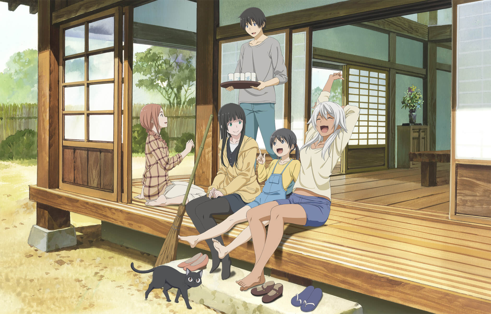 Flying Witch - Imagem Promocional analise