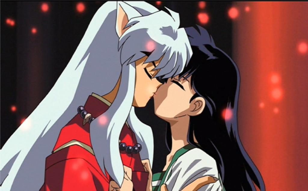 Top 10 Beijos em Anime | InuYasha