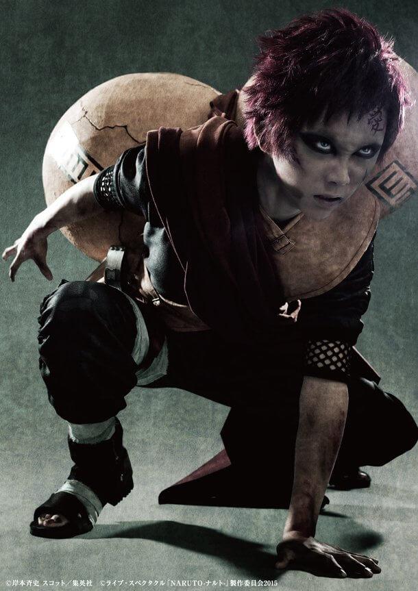 Naruto Stage Musical | Gaara