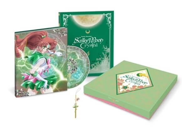Capa quarto volume blu-ray de Sailor Moon Crystal revelada