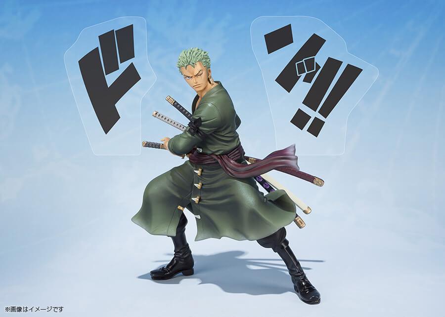 Roronoa Zoro 5th Anniversary Edition pela Bandai
