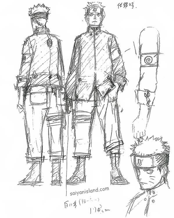 Primeiros Sketches do filme The Last: Naruto the Movie