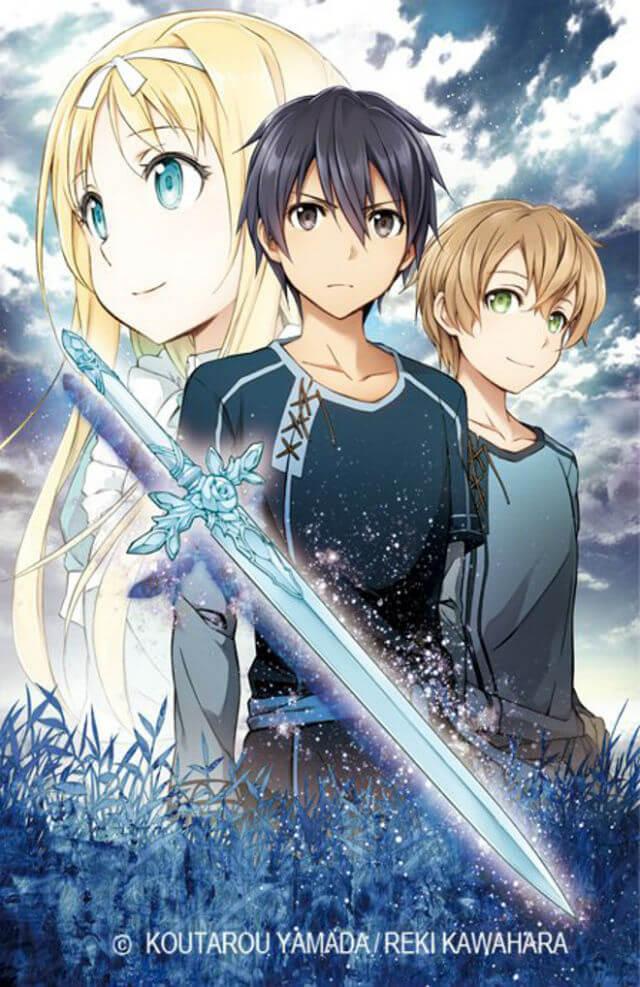 Manga Sword Art Online Project Alicization em agosto!