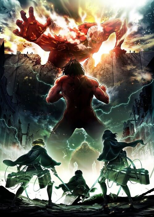 Attack on Titan Temporada 2 revelou Data de Estreia!! | Attack on Titan Segunda Temporada apresenta Primeiro Trailer | Attack on Titan Segunda Temporada apresenta Novo Poster