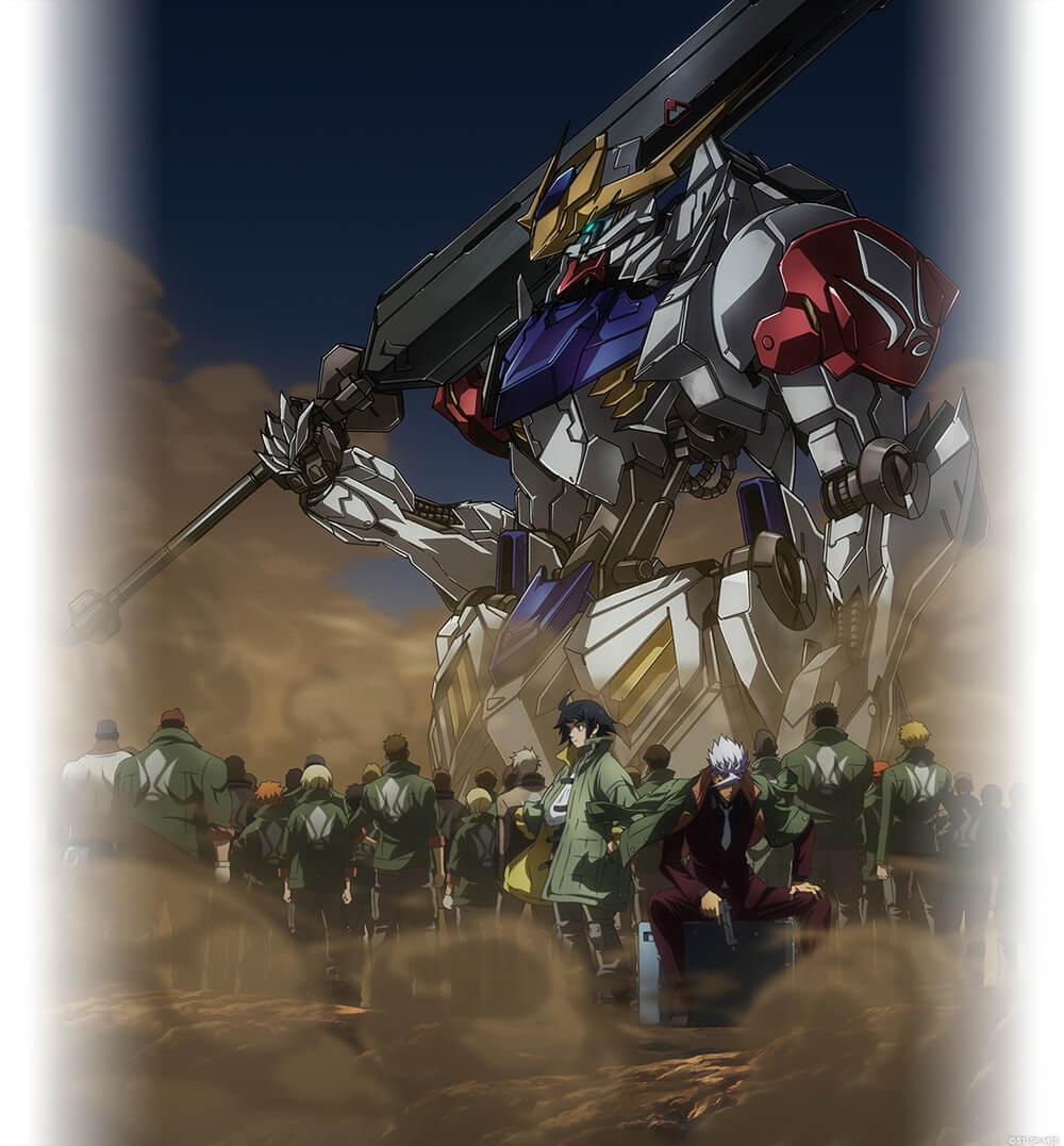 Gundam Iron Blooded Orphans Temporada 2 revelou Trailer