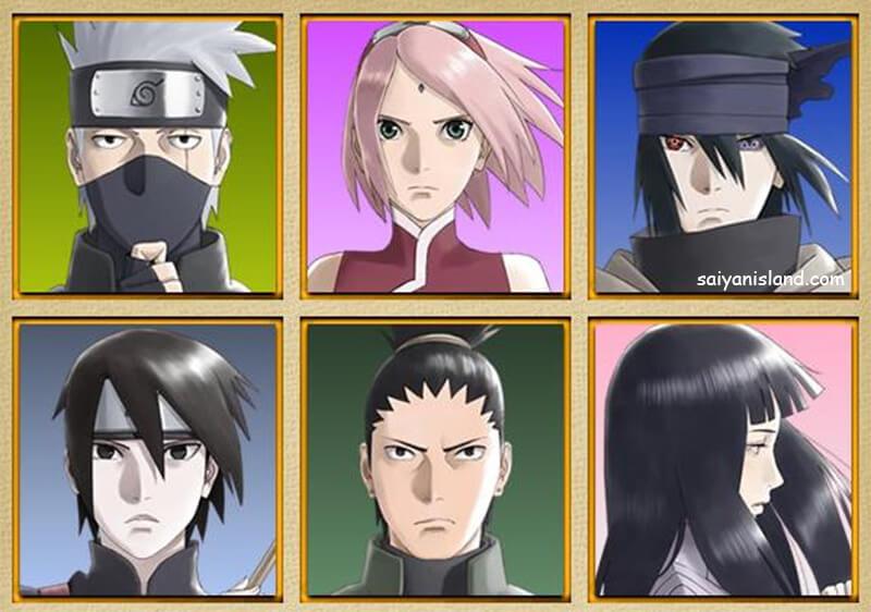 The Last: Naruto The Movie – Novos Designs Personagens Principais