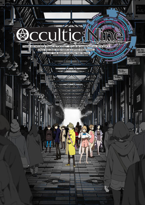 Occultic Nine revelou Poster Promo | Criador Steins;Gate | Occultic Nine revelou Primeiro Vídeo Promo e Equipa Técnica