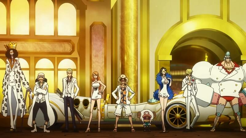 top filmes mais lucrativos 2016 japão one piece filme gold