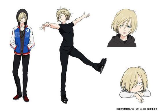 Yuri on Ice revelou Estreia, Novo Poster e História | Anime