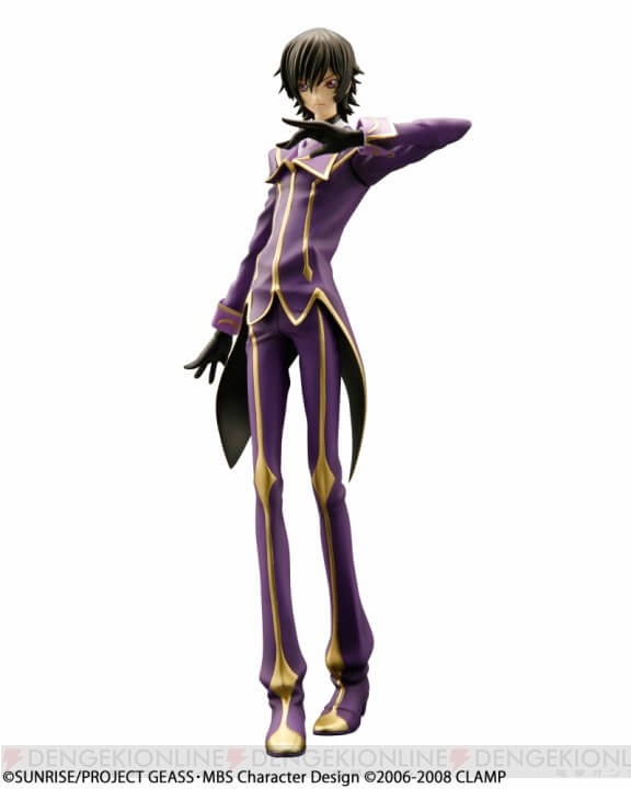 Code Geass 10th anniversary GEM Zero figure v1