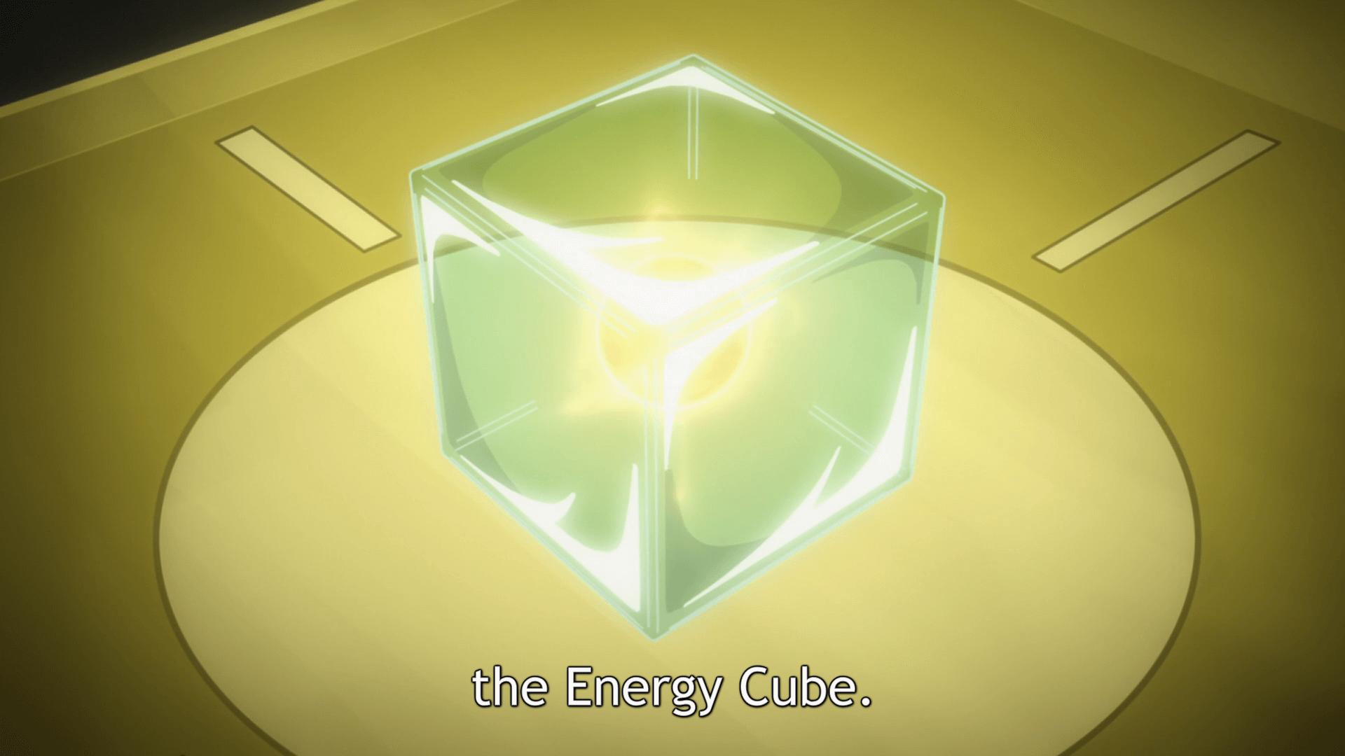 Gunslinger Stratos Energy Cube