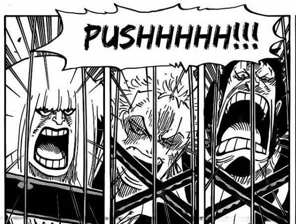 Manga One Piece Volume 79   Zoro vs Birdcage