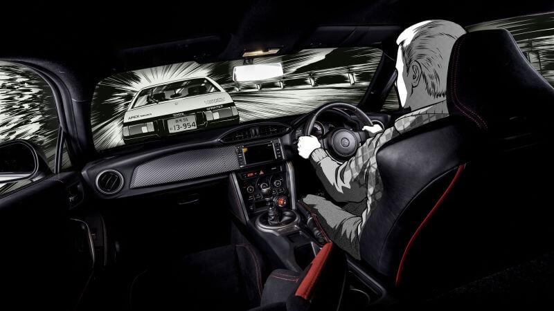 Toyota copia carro de Initial D 6