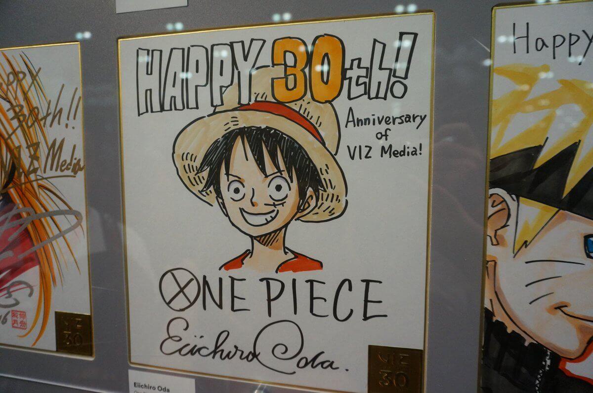 Viz Celebra 30 Anos com Ilustrações de Icónicos Mangakas