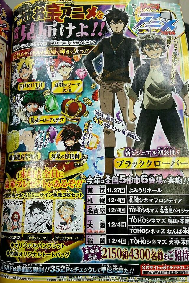 Black Clover Revela Nova Imagem Anime