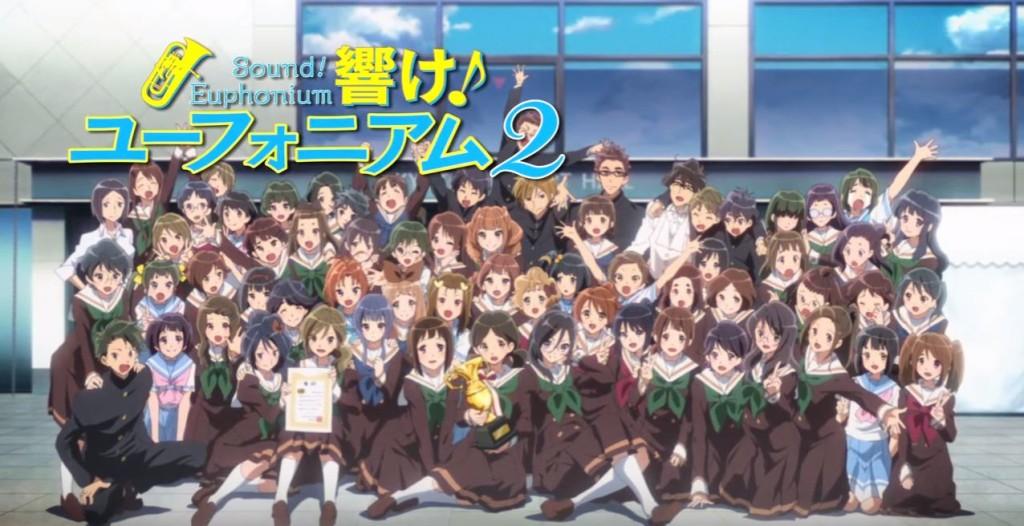 Hibike Euphonium Terá Segundo Filme Anime