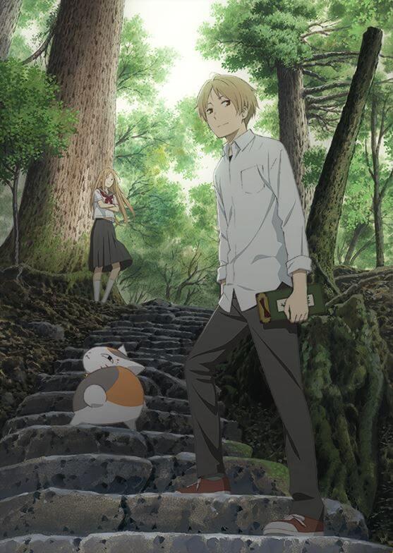 Natsume Yuujinchou Poster Promocional Quinta Temporada
