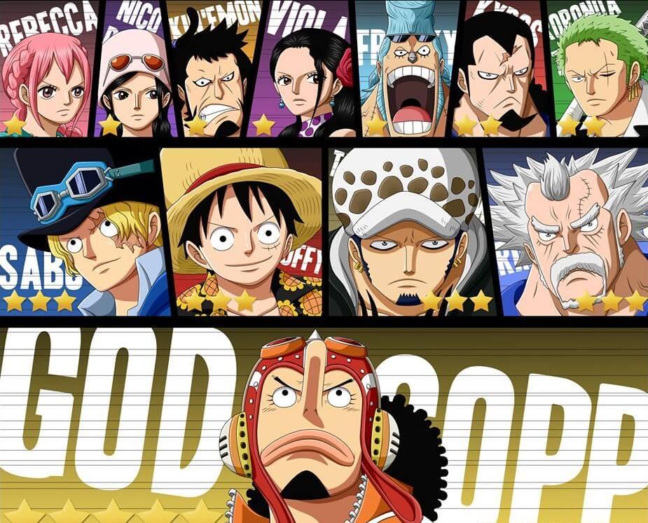 One Piece Saga Dressrosa - God Usopp