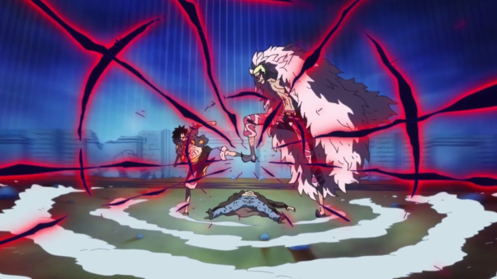 One Piece Saga Dressrosa