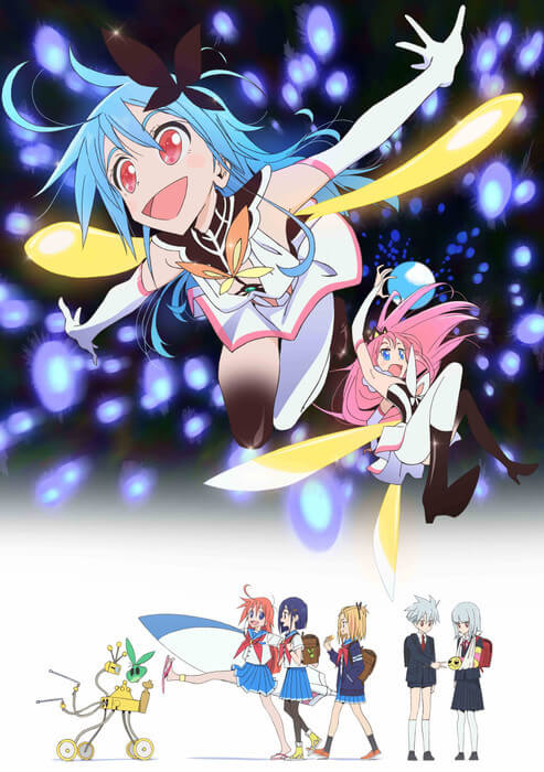 Flip Flappers - Poster Promocional