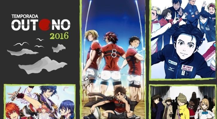 Catálogo Animes Outono 2016