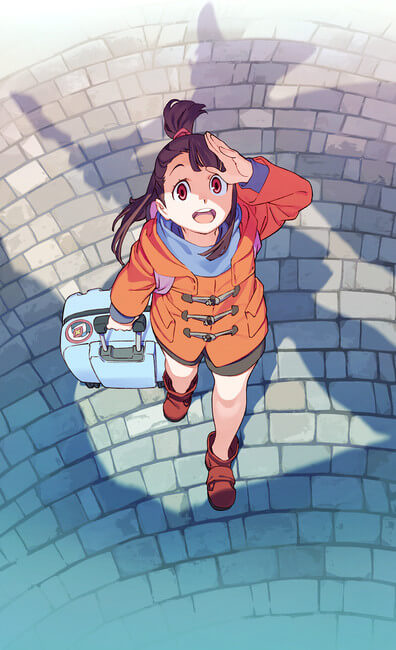 Little Witch Academia TV promove Data de Estreia | Teaser