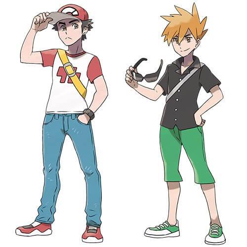 Pokémon Sun And Moon terá retorno de Red e Blue