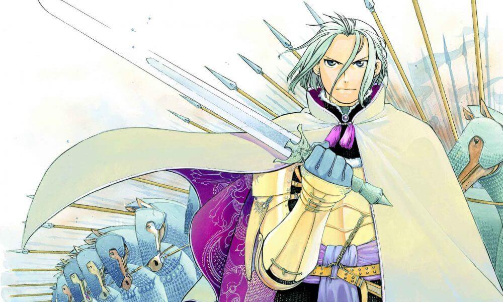 Arslan Senki atinge Top Vendas Mangas com data lançamento 2014