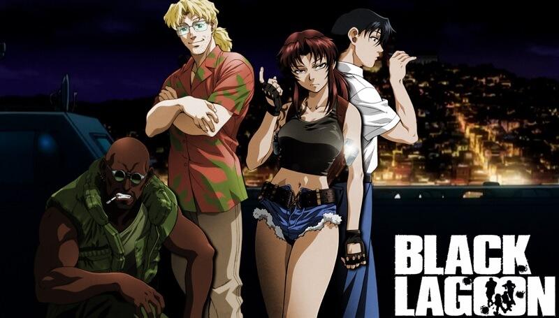 Nove Recomendações Anime para Não Fãs Black Lagoon